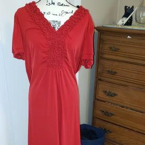 Lightweight spring dress  size 16w
